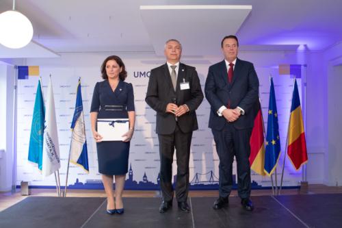 Prof. Leonard Azamfirei, Ph.D. and Prof. Simona Muresan. Ph.D.