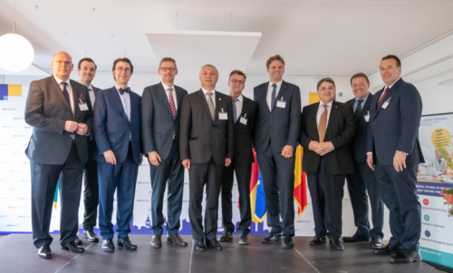 Group photo at the opening ceremony of UMCH in Hamburg