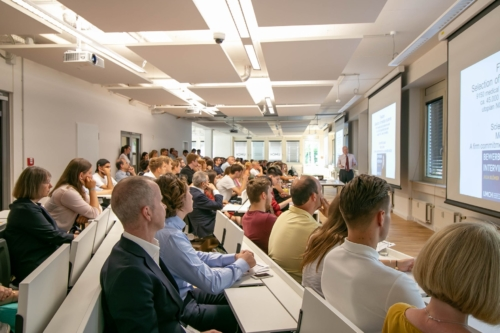 UMCH's auditorium during Open Campus Day in August 2019