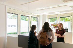 Visitors at UMCH in Hamburg