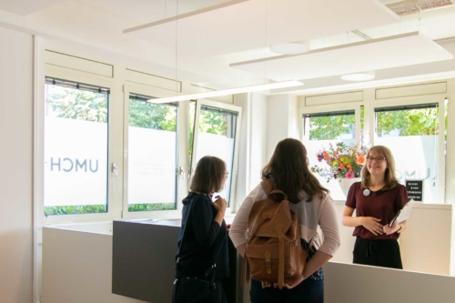 Visitors at UMCH in Hamburg