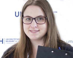 UMCH Student Adviser Jennifer Hoffmann
