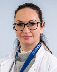 UMCH lecturer Alexandra Lazar, MD, PhD