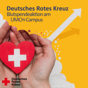 DRK-Blutspendeaktion am UMCH-Campus