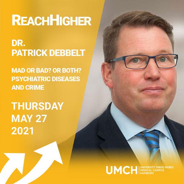 ReachHigher Vortrag mit Dr. Patrick Debbelt am UMCH