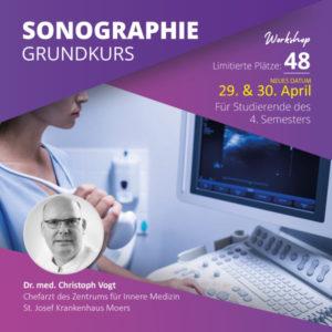 Sonografie-Workshop mit Dr. med. Christoph Vogt