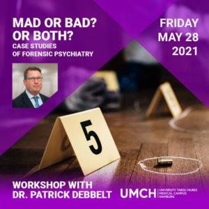 Forensic Psychiatry Workshop with Dr. Patrick Debbelt