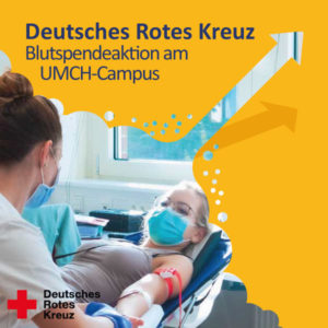 DRK-Blutspendeaktion am UMCH-Campus