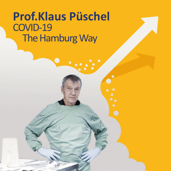 Prof. Klaus Püschel, MD, gives lecture at UMCH in Hamburg