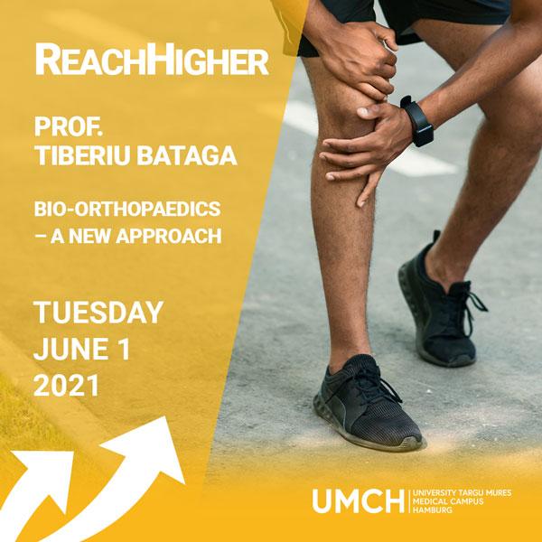 ReachHigher Vortrag von Prof. Tiberiu Bataga am UMCH