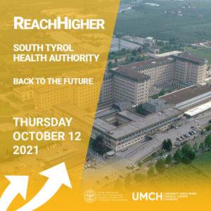 ReachHigher mit dem ReachHigher mit dem Südtiroler Sanitätsbetrieb