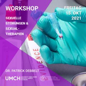 """Workshop """"Sexuelle Störungen und Sexualtherapien"""" mit Dr. Patrick Debbelt"""